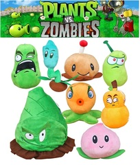 Растения против Зомби Плюшевые Растения — Plants vs. Zombies