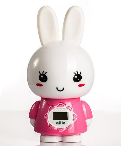 Музыкальная игрушка Alilo большой зайка G7 розовый
