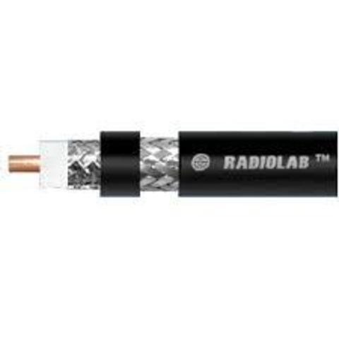 Коаксиальный кабель Radiolab 10D-FB PE (black)