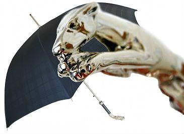 Pasotti мужской зонт-трость Bracco (гончая в прыжке)