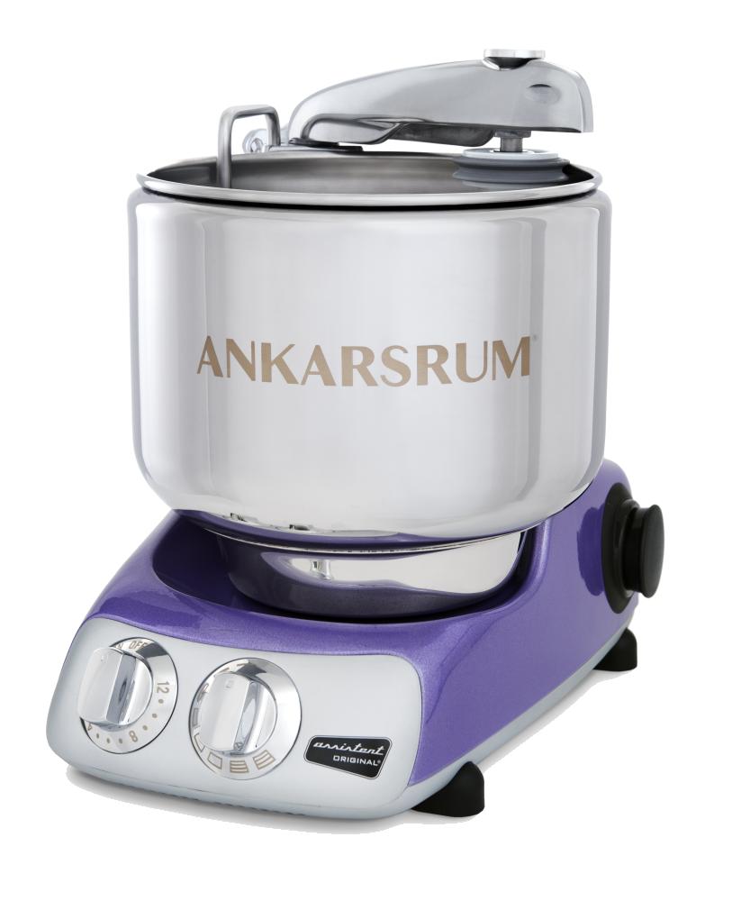 Тестомес комбайн Ankarsrum AKM6230SL+ Assistent фиолетовый (расширенный)