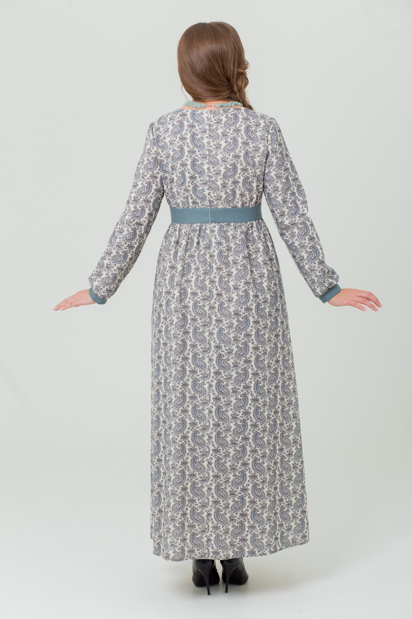 Платье льняное Славное пейсли купить