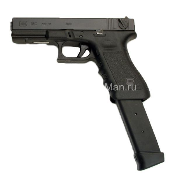 Запасной магазин для пистолета Глок 33 зарядный Австрия