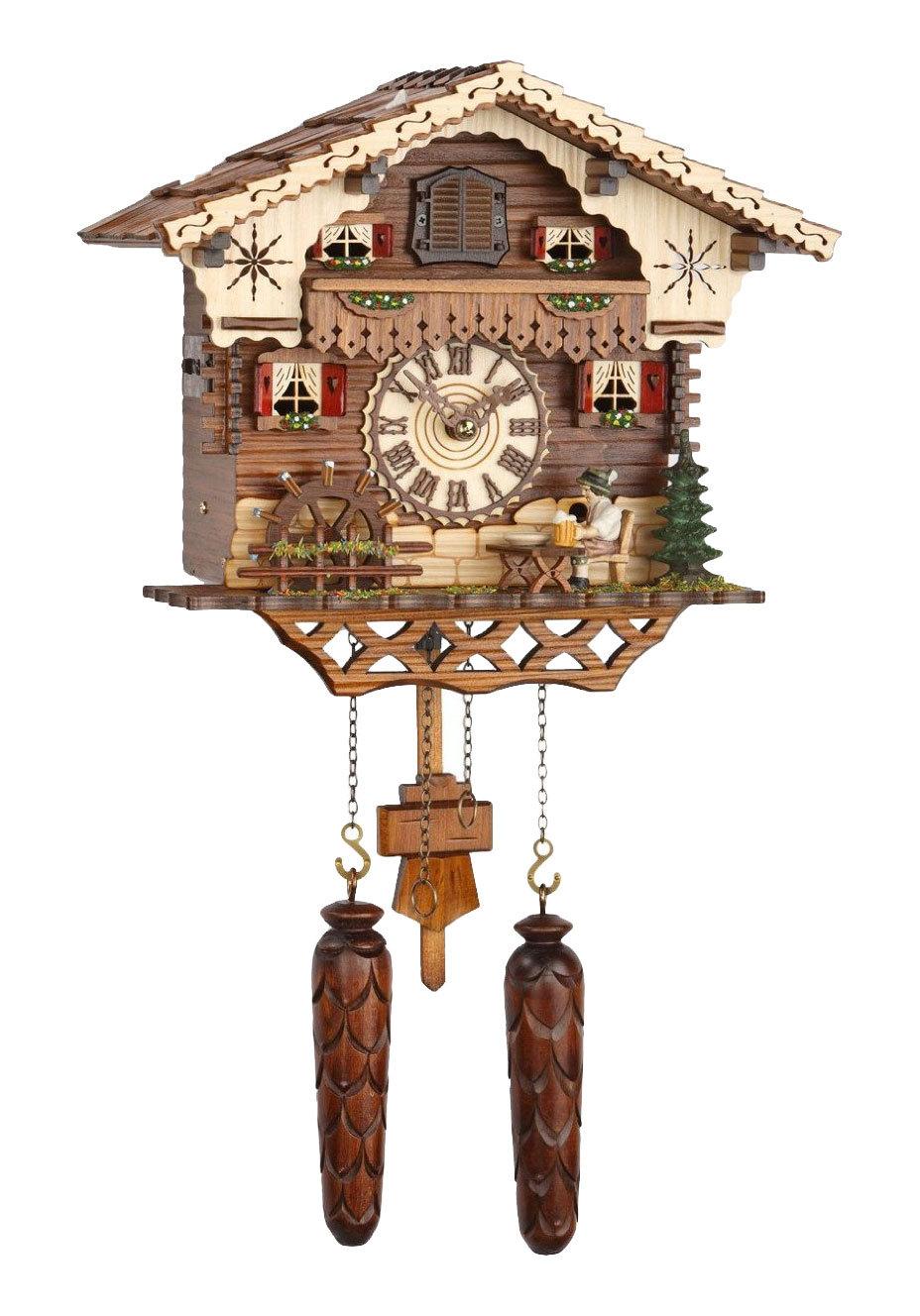 Часы настенные Часы настенные с кукушкой Trenkle 467 QM HZZG chasy-nastennye-s-kukushkoy-trenkle-467-qm-hzzg-germaniya.jpg