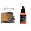 P-ART122 Краска Pacific88 ART Color Красновато-Оранжевая (Reddish Orange) укрывистый, 18мл