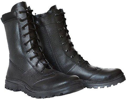 Ботинки «Ратник» на молнии с перфорацией (лето) ХСН 594