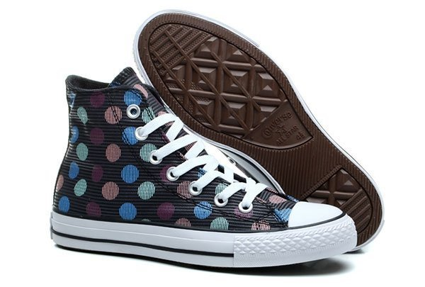 CONVERSE CHUCK TAYLOR ALL STAR HIGH MULTI COLOR POLKA (015)