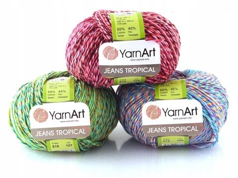 Jeans Tropical (Yarn Art)