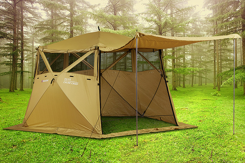 Кухня-шатер Higashi Chum Camp Olive