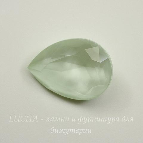 4320 Ювелирные стразы Сваровски Капля Crystal Powder Green (18х13 мм)