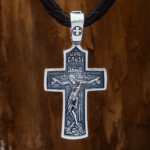 Крестик православный. Распятие. Молитва кресту.