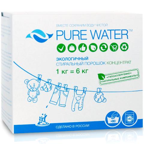 МиКо, Стиральный порошок Pure Water, 1000г