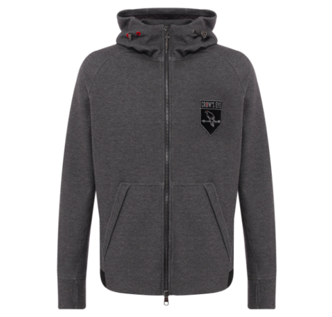 CROW'S EYE HOODIE SWEAT JACKET