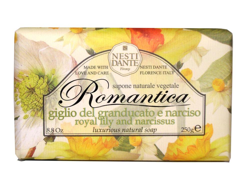 ROMANTICA Royal Lily & Narcissus / Королевская лилия и нарцисс мыло 250 гр