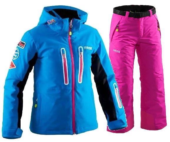 Детский горнолыжный костюм 8848 Altitude Kate-Inka 860906-8634I9 бирюза | Интернет-магазин Five-sport.ru