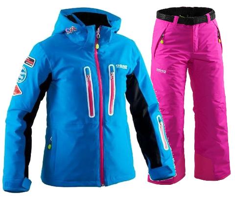 8848 ALTITUDE KATE-INCA горнолыжный костюм для девочек mix