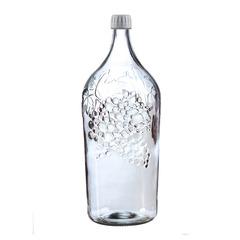 Бутылка стеклянная 2 л «Виноград»