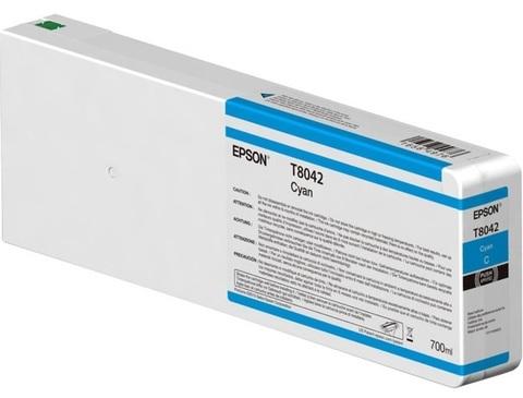 Картридж T804200 для Epson SC-P6000/7000/8000/9000 XXL Cyan UltraChrome HDX/HD, 700ml (C13T804200)