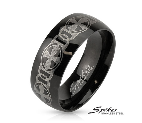 R-M3898-8 Мужское кольцо