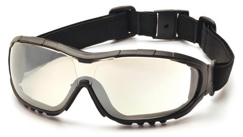 Очки баллистические стрелковые Pyramex V3G GB8280ST Anti-fog зеркально-серые 50%