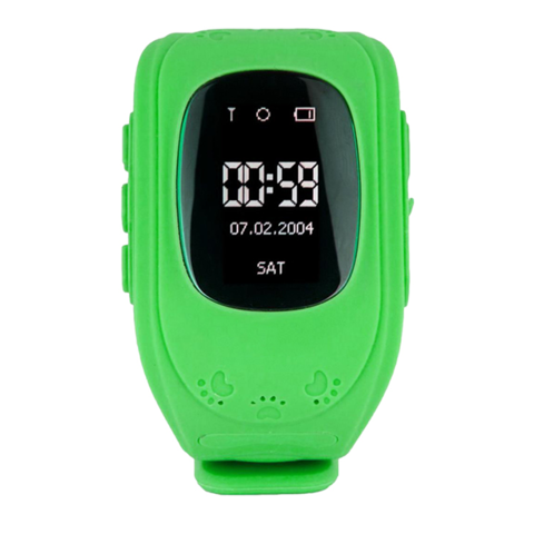 Детские часы с GPS Smart Baby watch Q50 (Green)