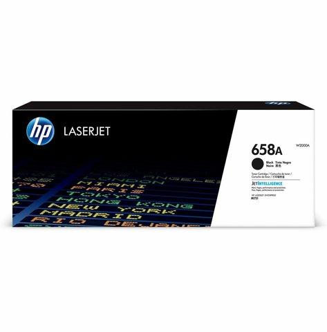Картридж HP 658A чёрный (W2000A)