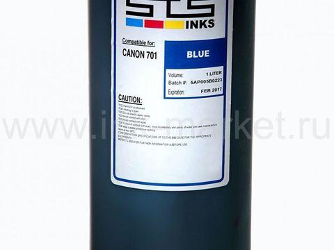 Пигментные чернила STS для Canon iPF5000, iPF5100, iPF6000, PF6100, iPF6200, iPF6300, PF6350, iPF6400, iPF6300, iPF6350, iPF8000, iPF8100 blue (1000 мл)