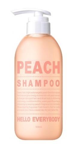 Шампунь для волос с персиком - Hello Everybody