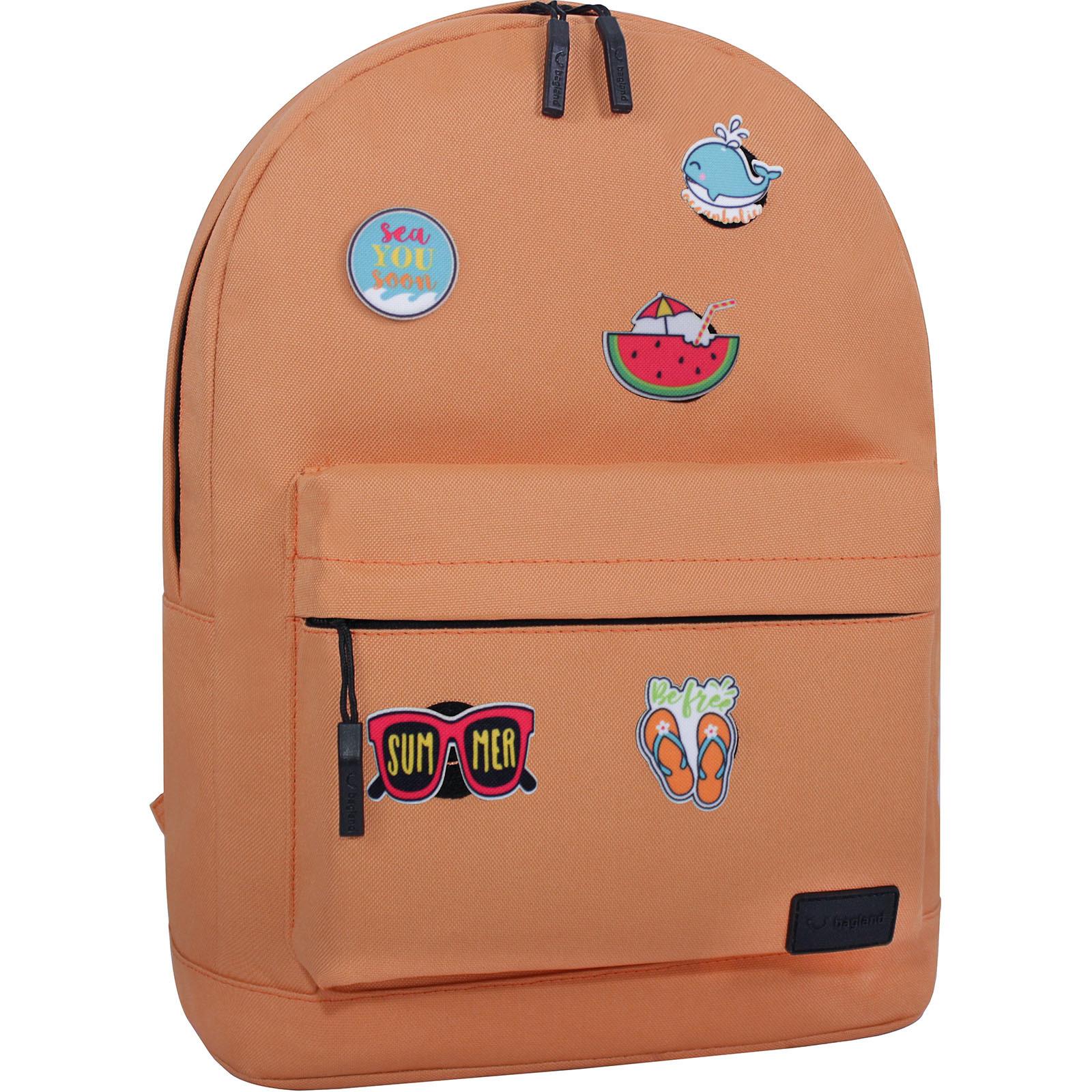 Городские рюкзаки Рюкзак Bagland Молодежный W/R 17 л. 281 Рыжий (00533662 Ш) IMG_3091.JPG