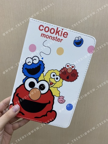 Чехол Slim Case iPad mini 1/2/3/4/5 /Cookie Monster white/