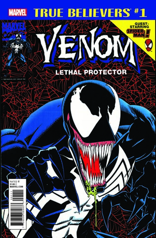 Marvel True Believers: Venom - Lethal Protector (2018) #1 (c автографом Sam De La Rosa)