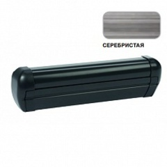 Маркиза настенная с мех.приводом DOMETIC Premium DA2025, цв.корп.-черный, ткани-серебро, Ш=2,6м