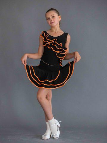Детский топ для танцев арт. 410