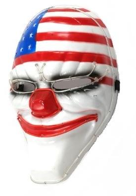 Пейдей 2 маска Далласа с неоновой подсветкой