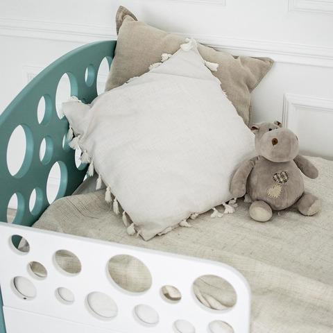 Кровать подростковая Феалта-baby Пузыри, мята