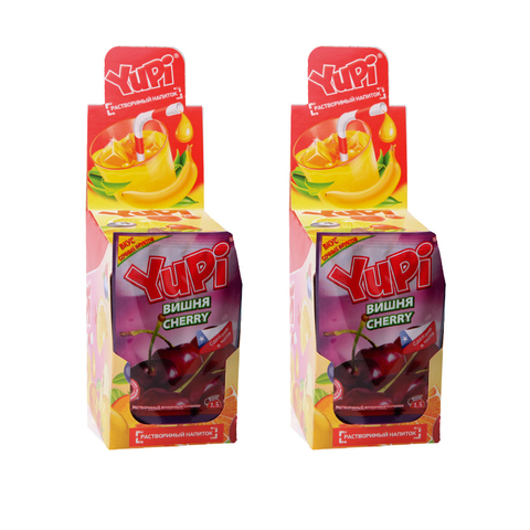 Растворимый напиток YUPI Вишня 15г*24шт*6 бл