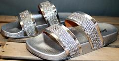 Сланцы обувь женские Seastar T335P Silver.