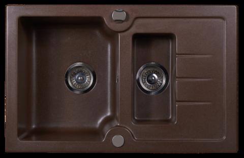 Мойка для кухни Kuppersberg MODENA 1,5B1D CHOCOLATE