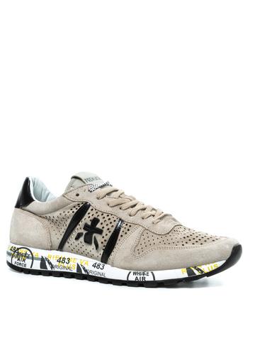 Замшевые кроссовки Premiata Eric 4740 с перфорацией