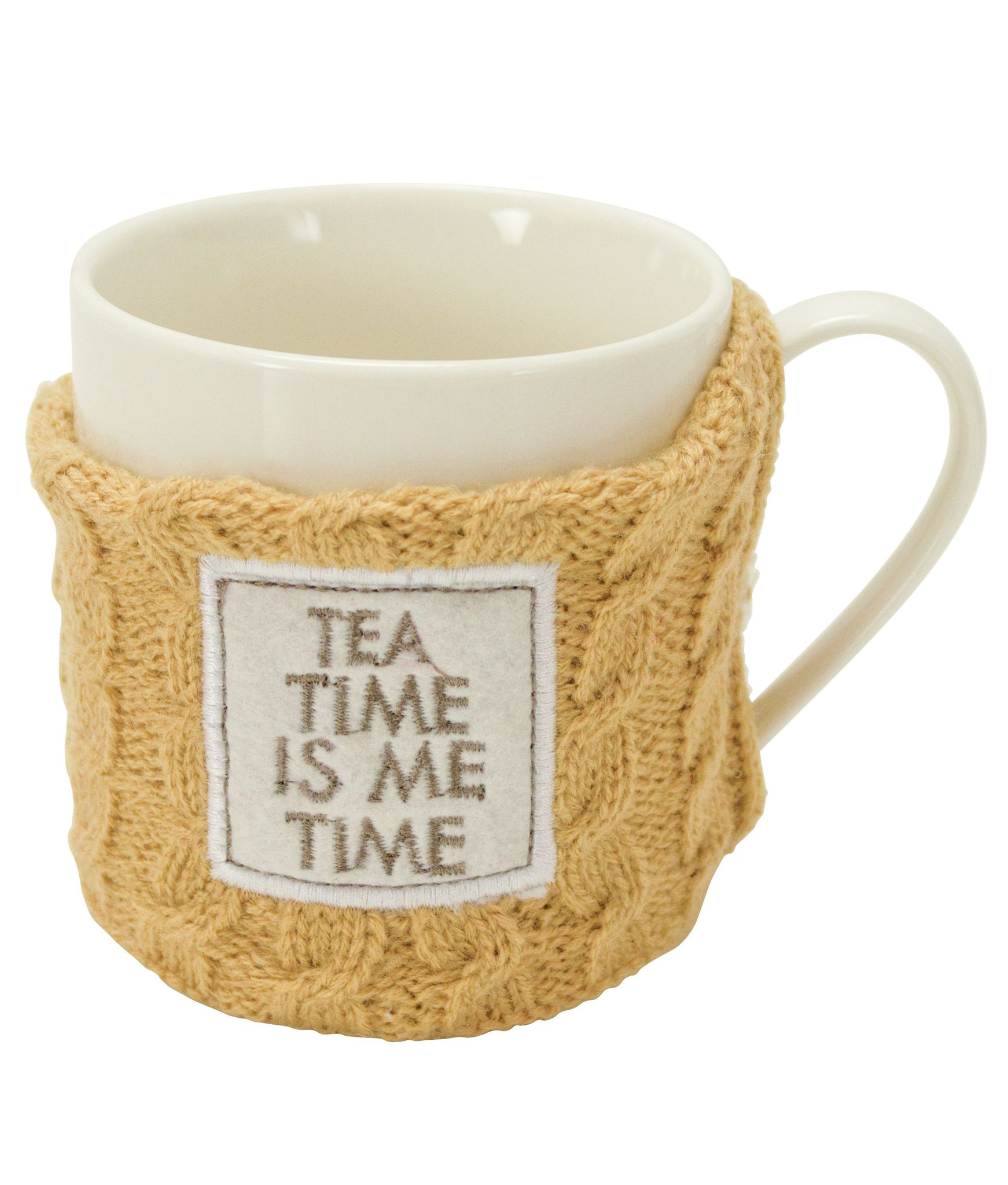 Кружка в свитере Boston Warehouse Sweater mug Tea Time