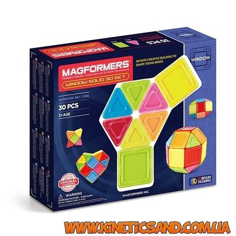 Magformers 3D окошки, 30 элементов