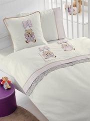 Детское постельное белье BEBE лиловый Gelin home Турция