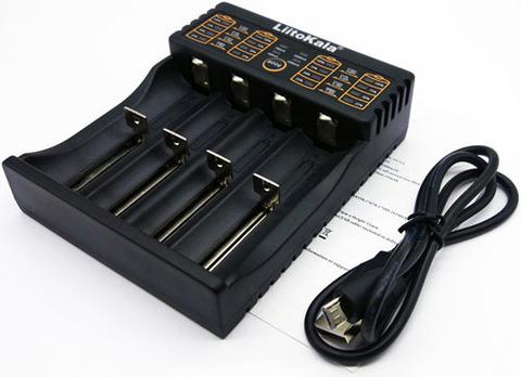 Зарядное устройство LiitoKala 402 для Li-ion, NiMH аккумуляторов