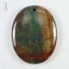 Подвеска Опал, цвет - коричнево-зеленый (№1 (44х34 мм))