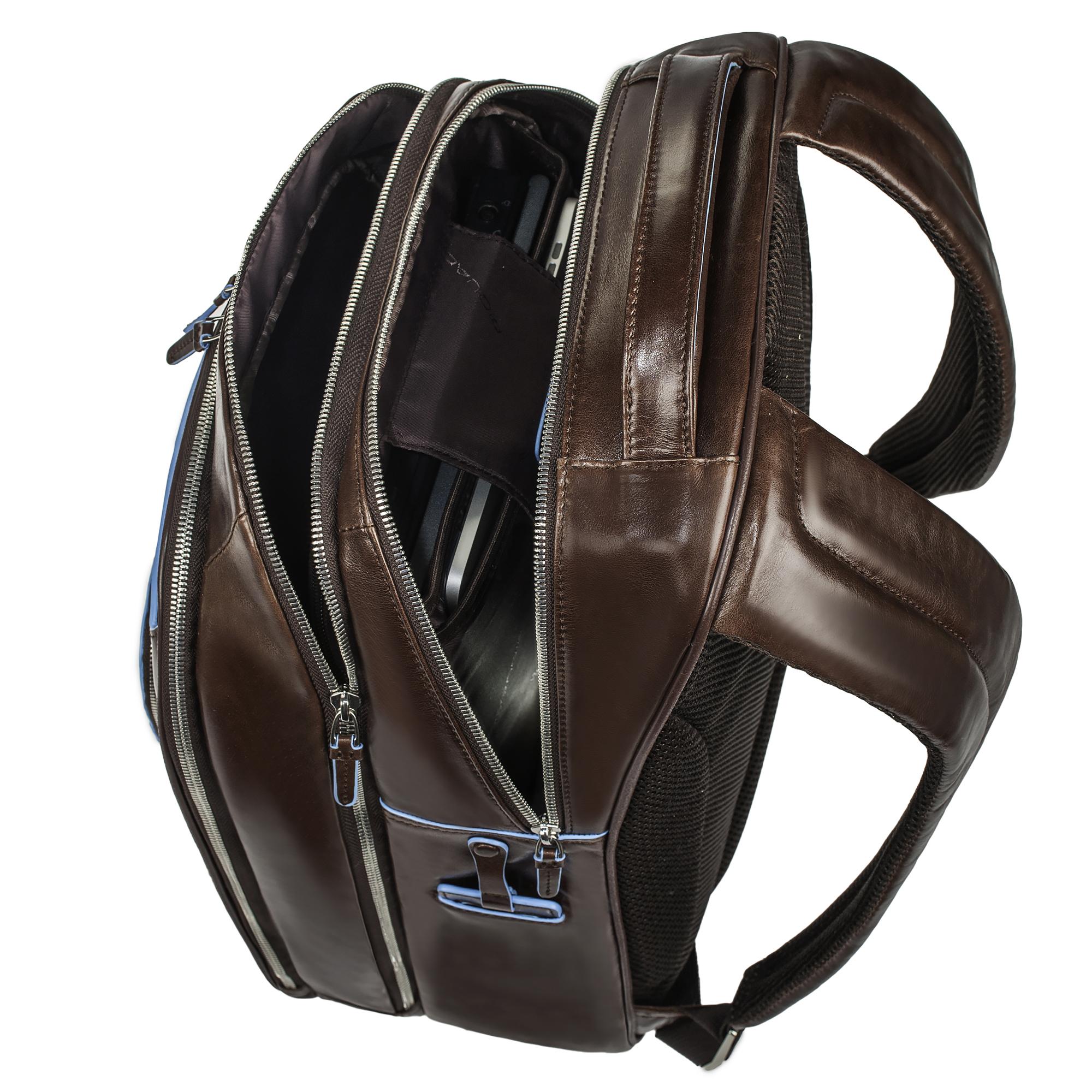 Рюкзак Piquadro Blue Square, цвет коричневый, 31х42х18,5 см (CA1813B2/MO)