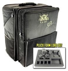 Рюкзак Battle Foam с универсальными треями (черный)