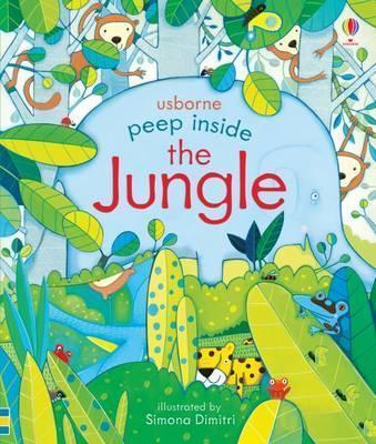 Kitab Peep Inside the Jungle | Anna Milbourne