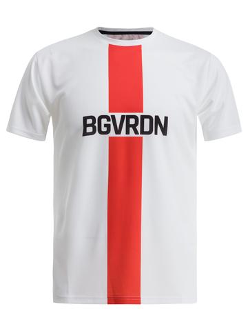 Футболка, Gri, BGVRDN, унисекс, белый