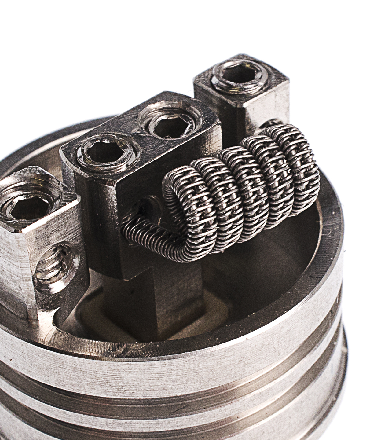намотка Staggered fused Clapton coil