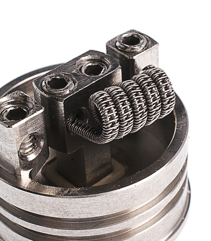 Babylonvape намотка Staggered fused Clapton coil